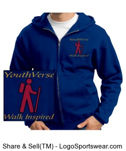 YouthVerse Logo Sweatshirt Design Zoom