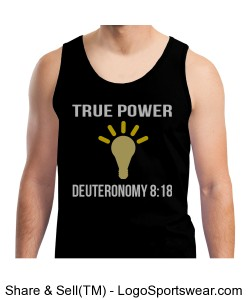 True Power Deuteronomy 8:18 Design Zoom